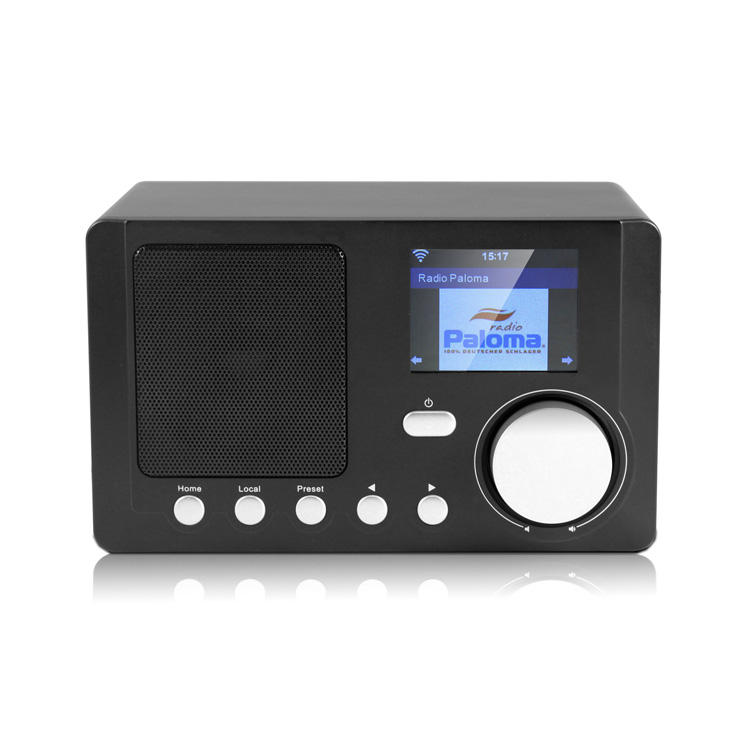 MS-210C Internet Radio Wi-Fi Bluetooth Speaker with 2.4'' Color Display Wireless Speaker