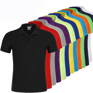 Men's polo shirt in striola, customized sizes are welcomed