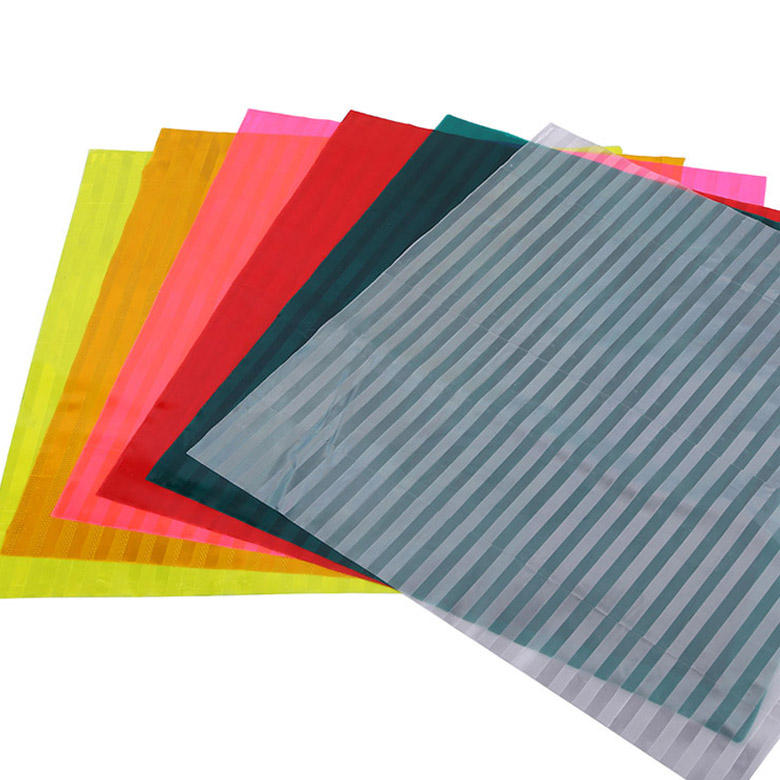 China High Visibility Micro Prismatic Retro Reflective Plastic Sheet