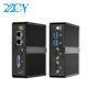XCY fanless mini pc computer desktop celeron J1900 NUC mini pc with Dual RS232 Dual Lan industrial computer
