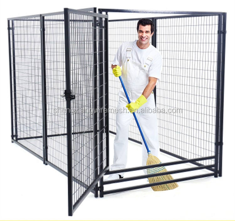 Wholesale Popular Portable Professional Metal Dog Kennel Dog Cage with wheels