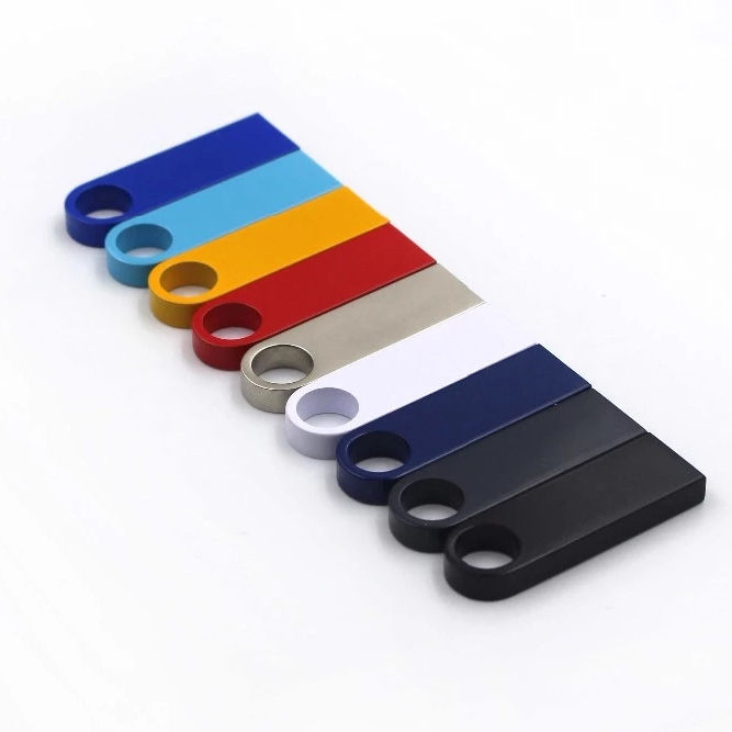 Custom logo mini usb flash drive 1gb 2gb 4gb 8gb 16gb 32gb 64gb 128gb metal usb 2.0 3.0 flash disk for promotion