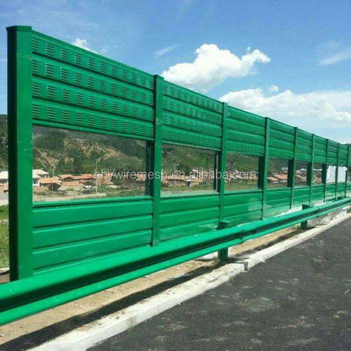 Factory direct sale high quality cheap highway noise barrier price for wholesale