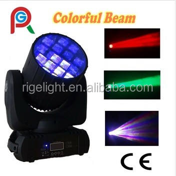 Hot 19*10 w Rgbw 4in1 Fascio Sharpy Testa Mobile A Led Zoom luce