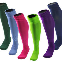 Solid sport high tube over the calf support Compression Socks