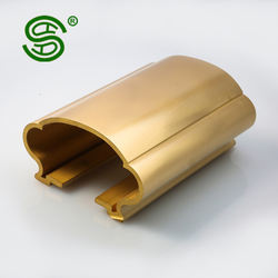 China manufacturer different model of decorative metal brass copper handrail