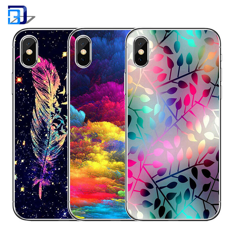 For iphone x case printing mobile phone cover soft tpu back cover case bulk buy from china