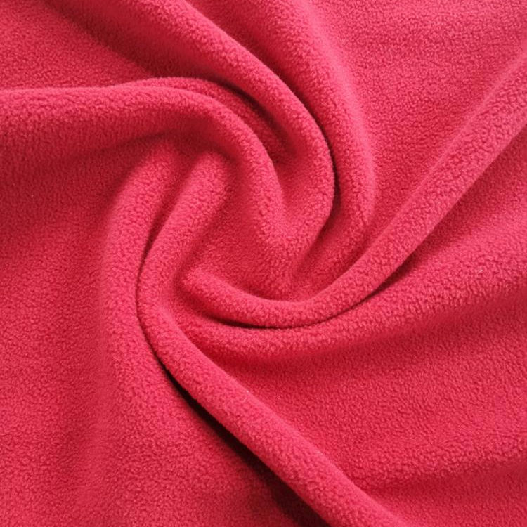 Keep warm 100% polyester micro fiber DTY 실 polar fleece fabric 대 한 의류, 문방구,, 담요