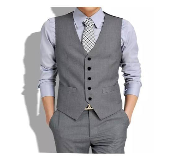 Hot Sale Gray Formal Business High Quality Men Vest YF002