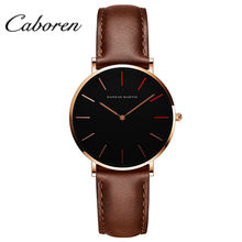 Hot sale trend design ladies leather dw watch japan mov dw quartz watch for girl