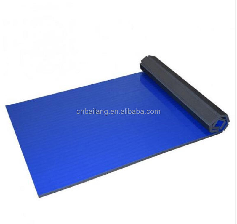 High Quality PVC Wrestling Roll Mat For Judo
