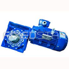 High quality worm gear speed reduction gearbox nmrv series with electric motor