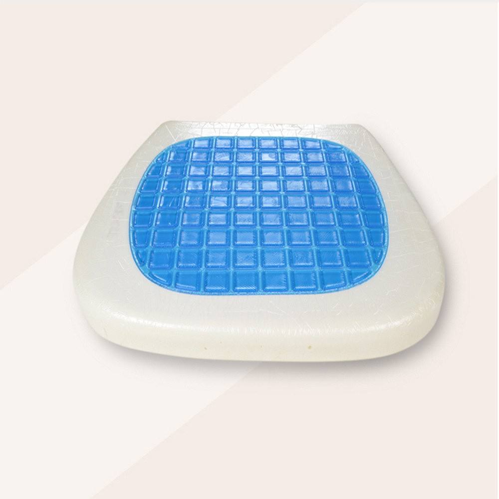 Pressure Relief High Quality Memory Foam cushion /Square Shape Cool Gel Seat Cushion