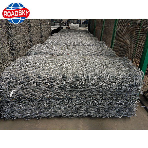 High Quality Gabions Box hot Dipped Galvanized Material Gabion Mesh Size
