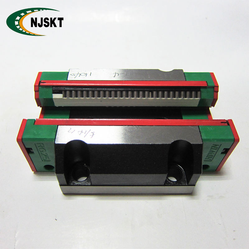 High speed RGW45HC HIWIN linear slide rail block