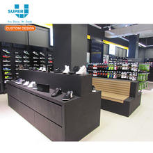 Wholesale Modern Good Quality Mdf Sports Shoes Display Rack