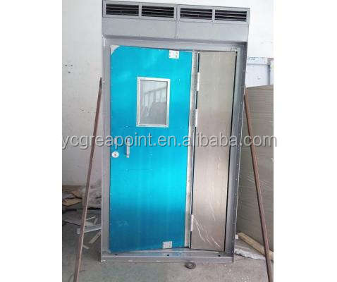 Marine Stainless Steel/Aluminium Gastight Door with Inflatable Seal