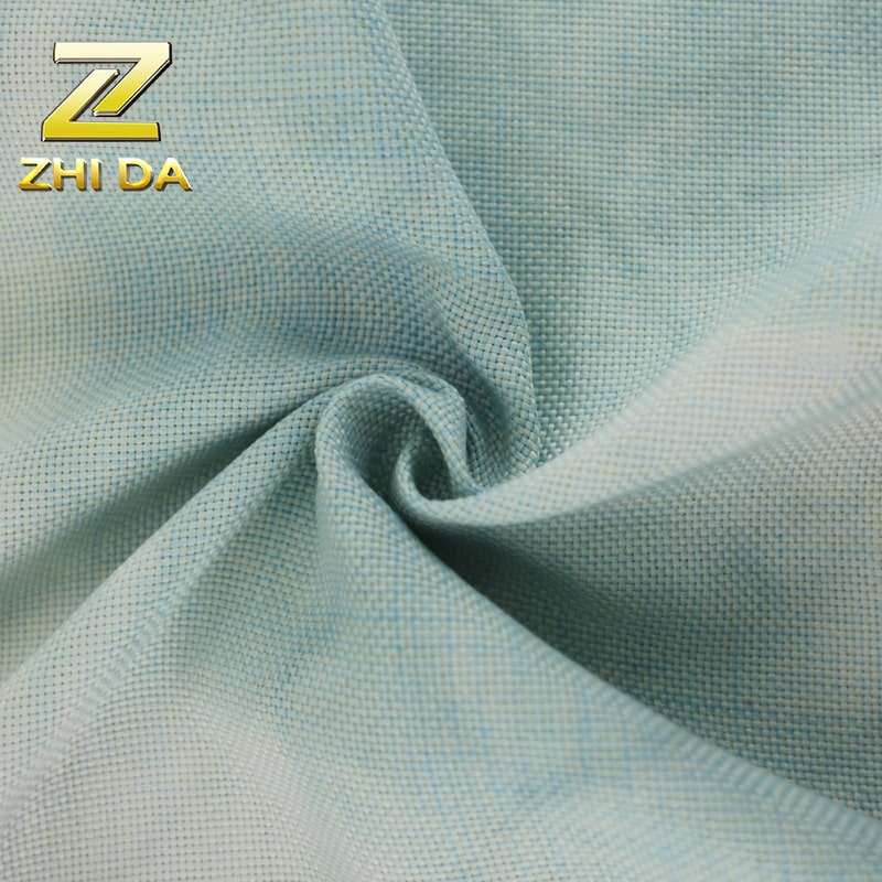 New design solid tie dye 100 polyester fabric for curtains