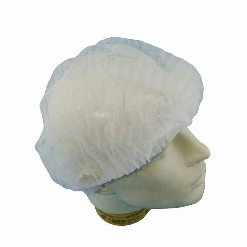 "Shield Safety Disposable 21/"" Hairnet Black Nylon Hair Net Cap 900 Pieces"