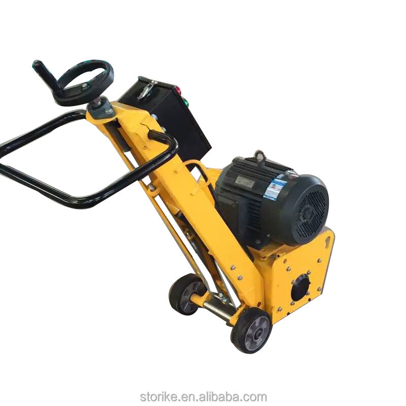 Clean and prepare concrete floor scarifier machine,Electric motor asphalt milling machine