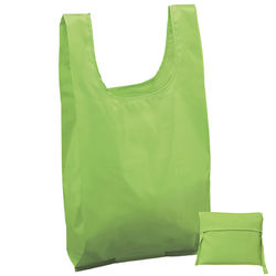 Reusable polyester bag tote shopping bag can folding