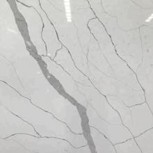 Hot Selling Quality Natural Marble Look Artificial White Quartz Stone