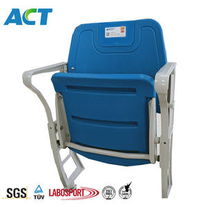 sit up bench with showing your club logo china stadium seat