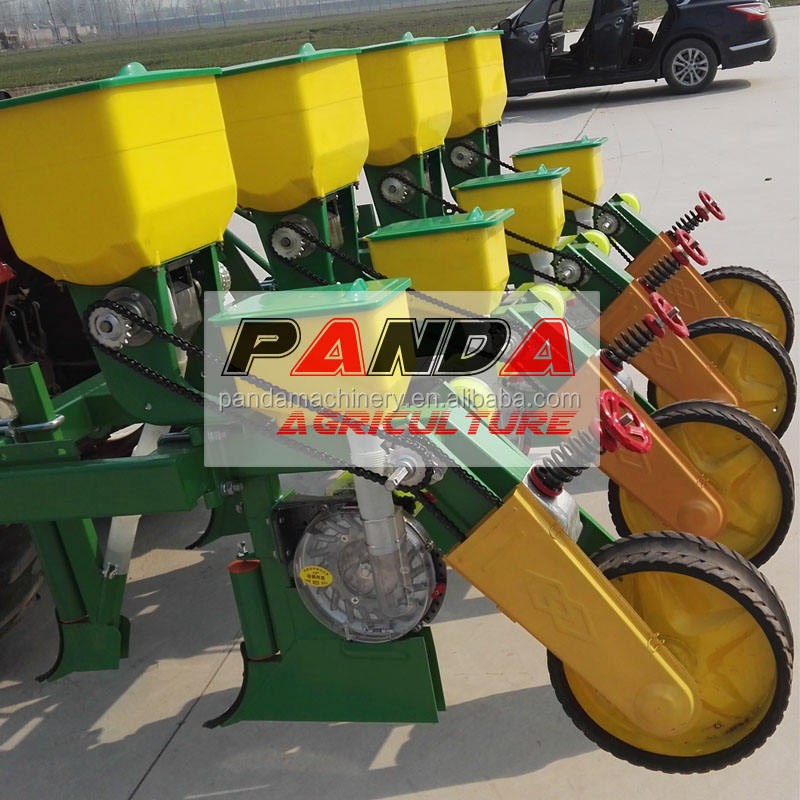 new type tractor 4-row mounted corn/soybean seed dril/planter