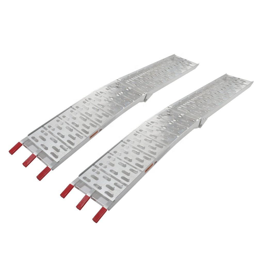 Truck trailer ATV car ramp Aluminum Folding Loading Ramps