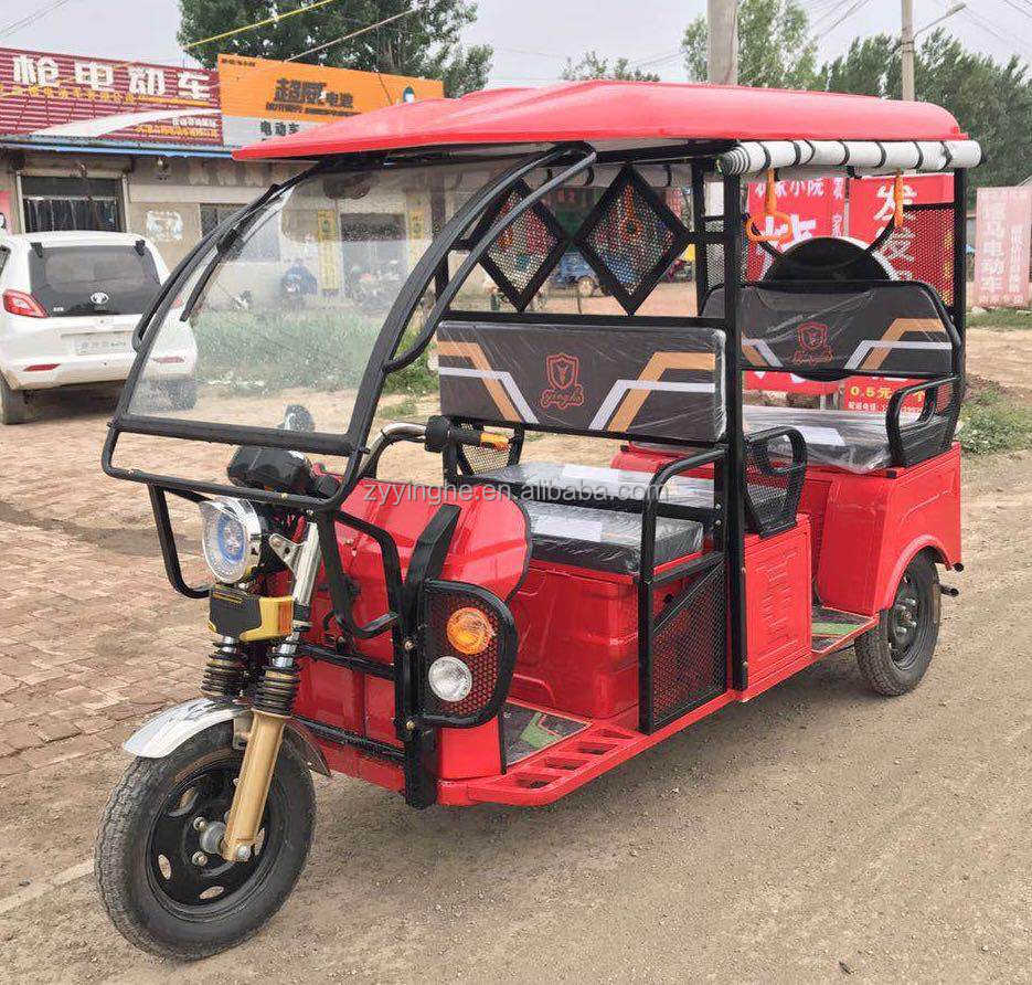 2018 New ICAT Electric Rickshaw Battery Tricycle