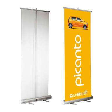 2018 hot selling aluminum roll up standee rollup banner stand