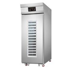 16 trays powerful efficient electric cold storage fermentation cabinet