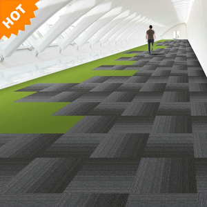 100% polypropylene square carpet tile for building floor decoration carpet