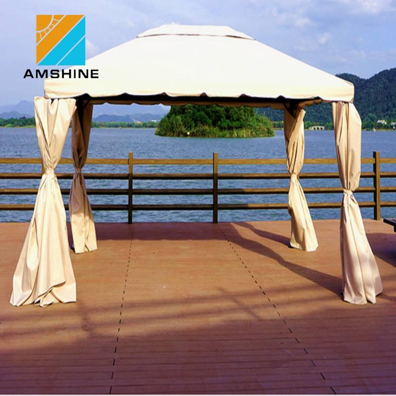 Außen metall garten sonnenschutz pavillon