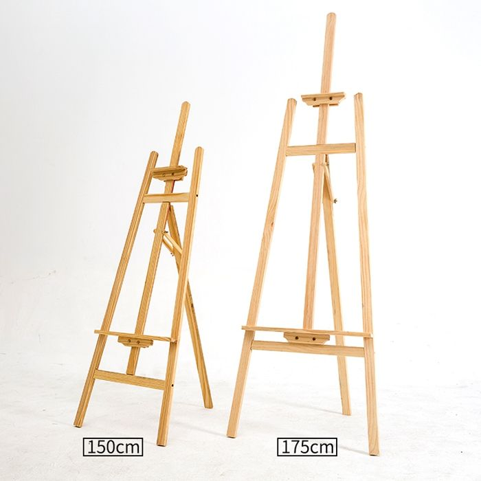 No Moq Limited high quality advertising mini wood easel 150cm