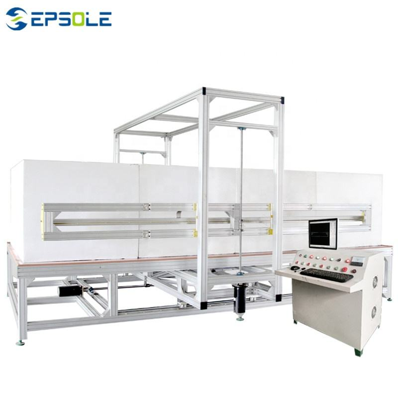 China Hot Wire Cutting Machine Vertical Styrofoam Block Cutting Machine For Sale