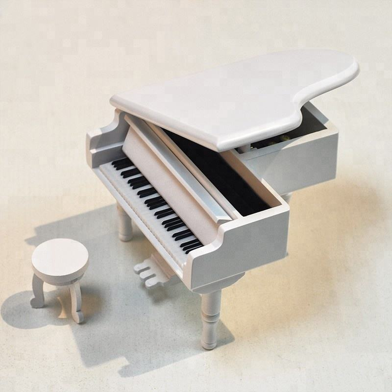 New arrival metal pedal music white piano