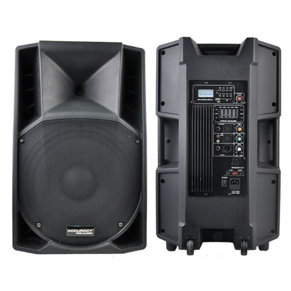 Accuracy Pro Audio CSW15AXQ 15 Inch 180W Professional Active Powered Active Speaker
