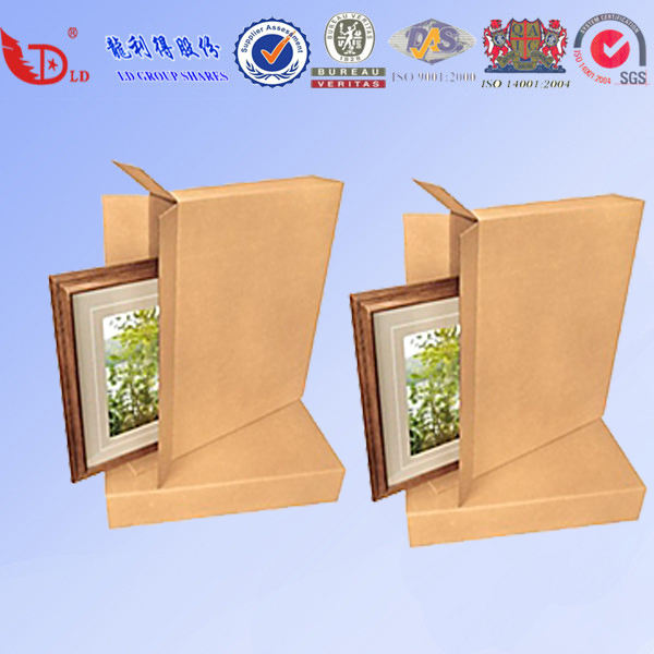 SIDE LOADERS CARTON BOXES FOR PACKING EASY TO SEAL for photo frame
