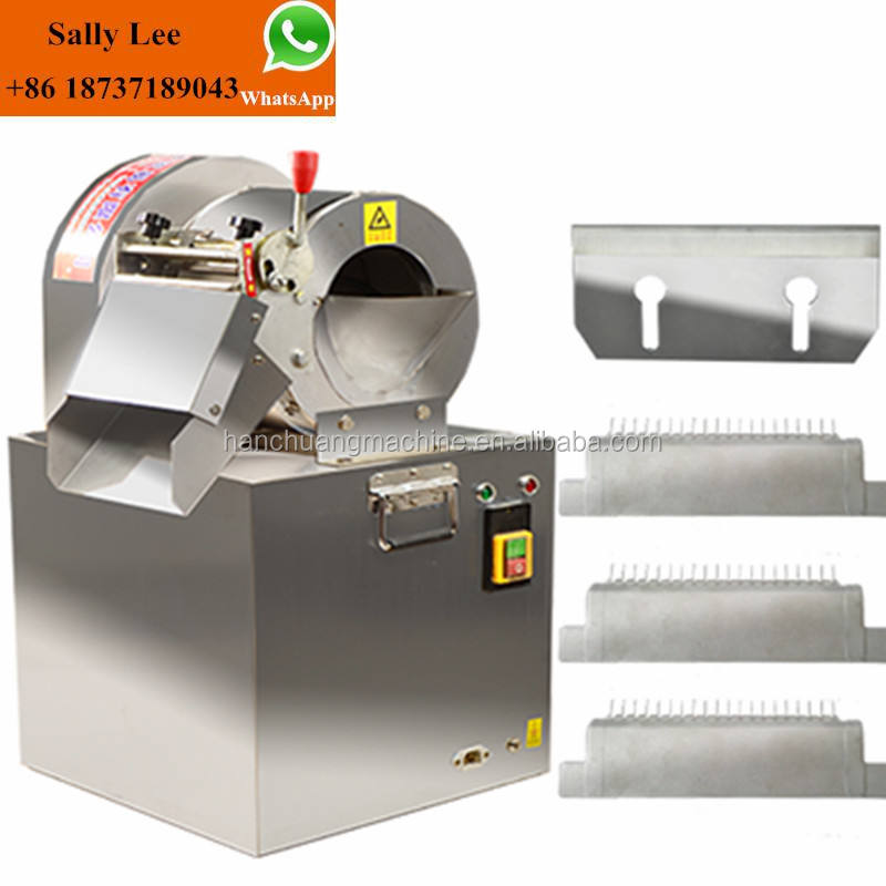 High quality potato finger machine/potato chips machine/vegetable slice strip cutting machine