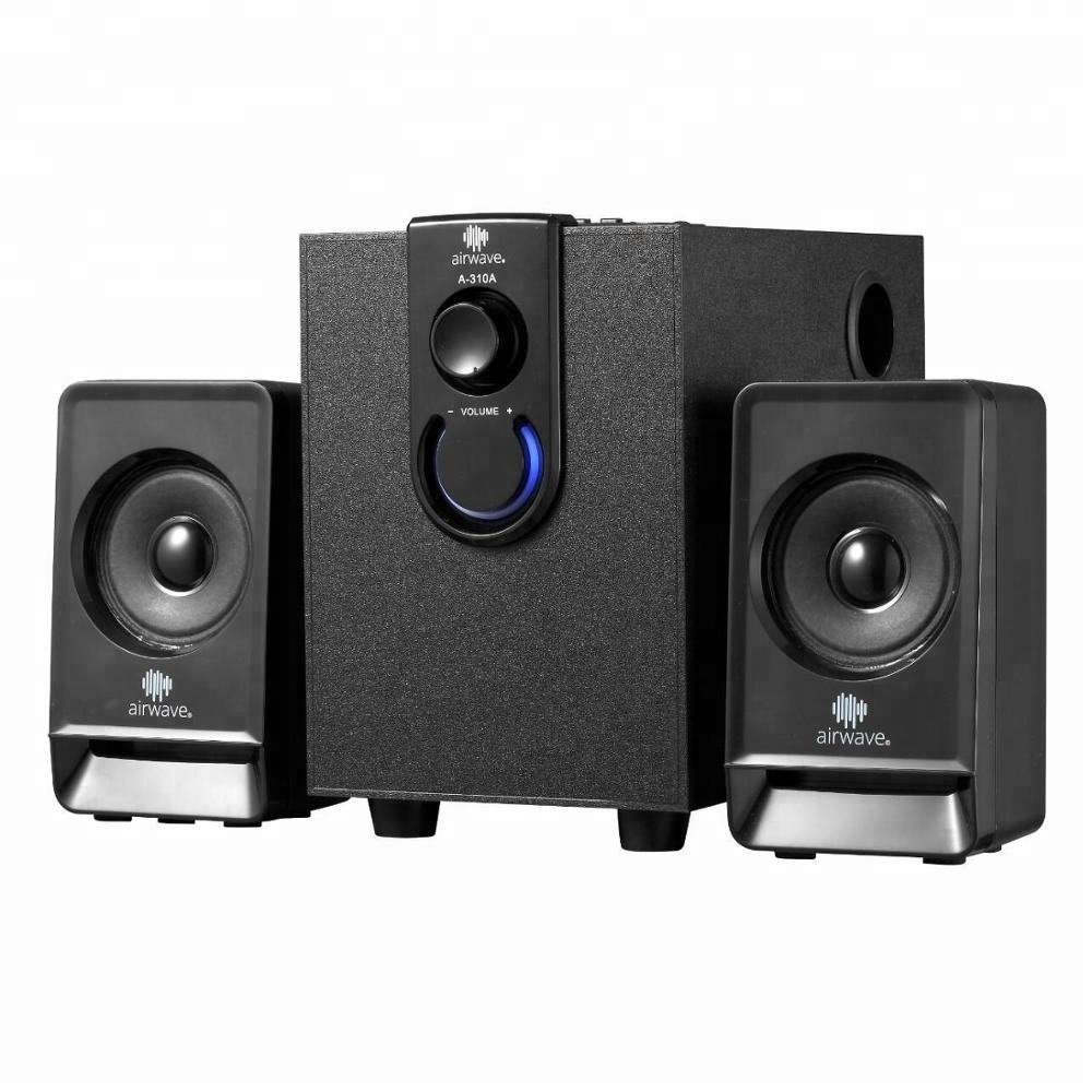 New Arrivals 2.1 Mini Multimedia Speakers Remote Control Speakers