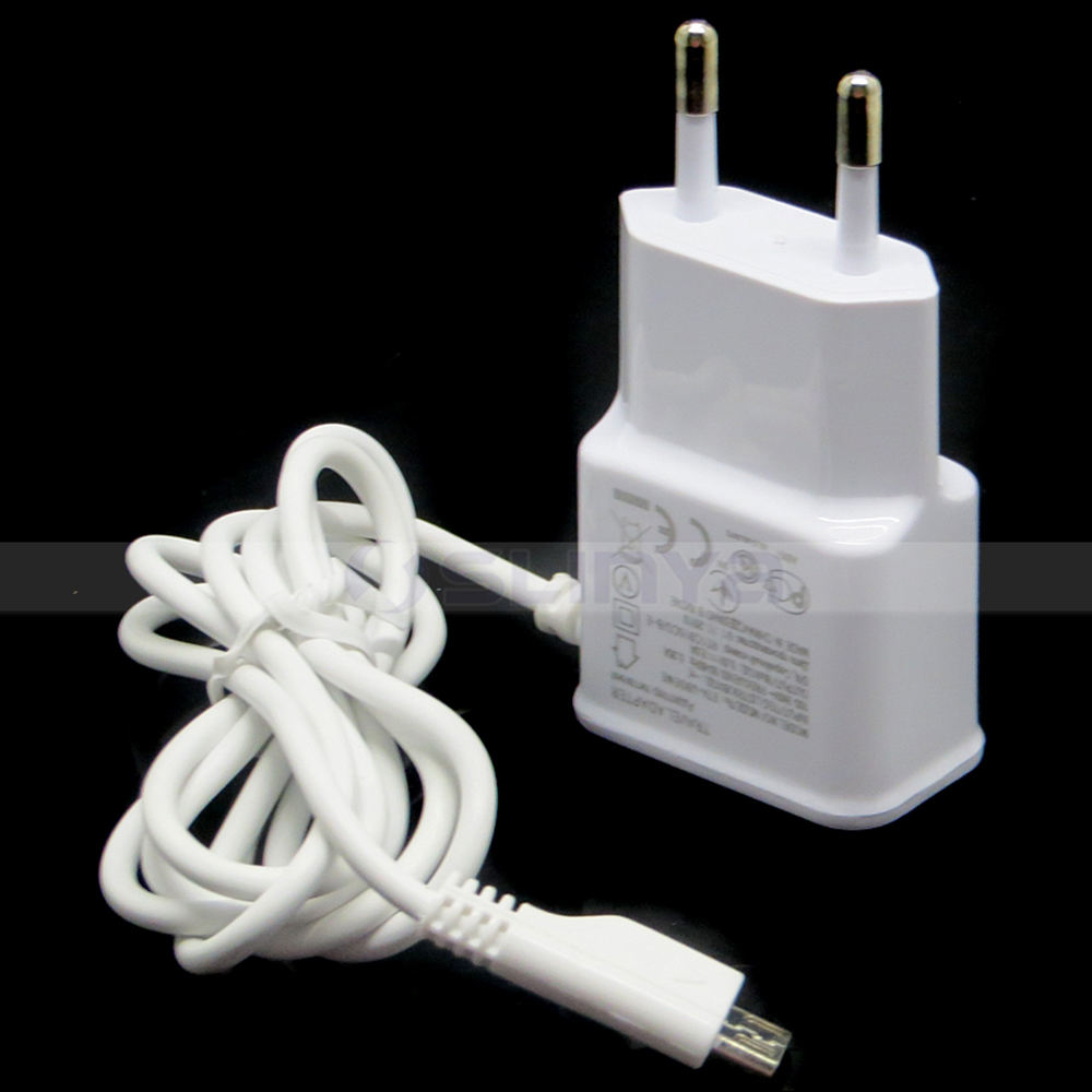 US/EU Plug 2.1A USB Wall Charger for Android Mobile Phone Tablet Micro USB Travel Charger