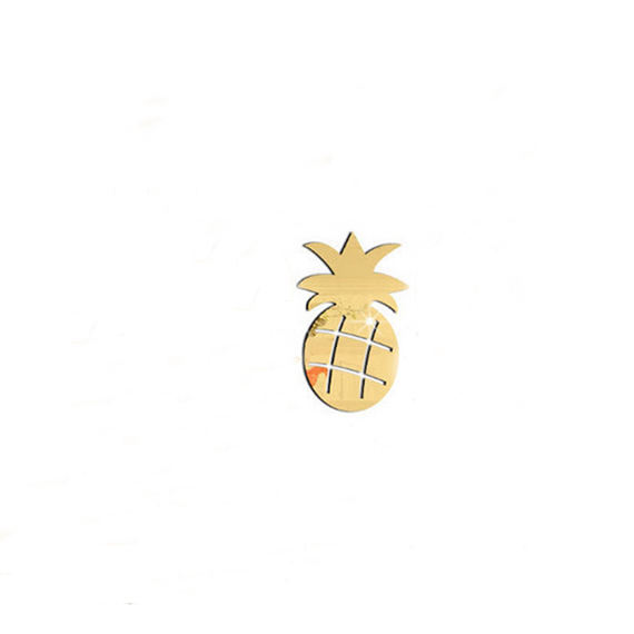 New Children/'s Room Decoration Environmental Fruit Pineapple Mirror Wall Sticker