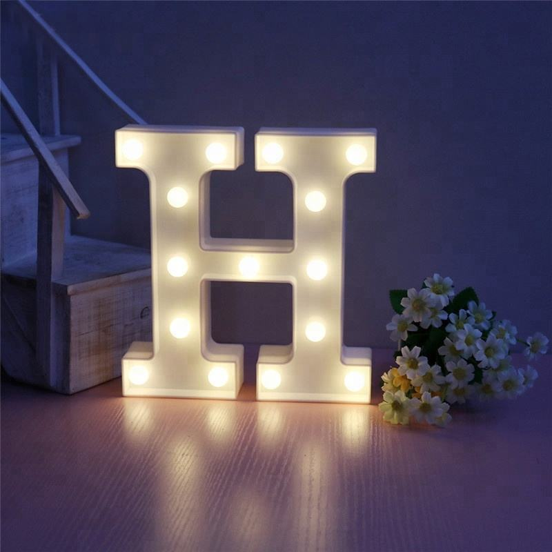Indoor Plastic Small Marquee Light Led Illuminated Letters