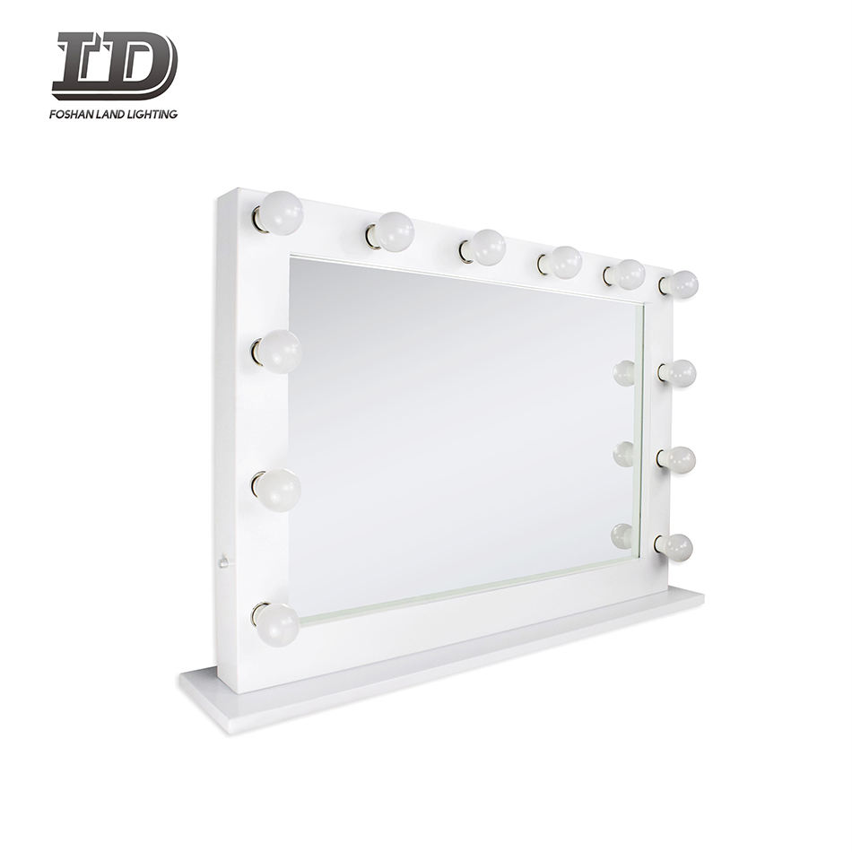 Hollywood Makeup Vanity Mirror with Light Bulbs, Illuminate Vanity Dressing Table mirror Light