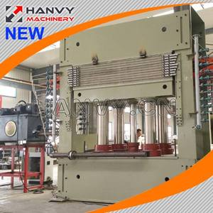 Plywood Veneer Laminating Hot Press Machine