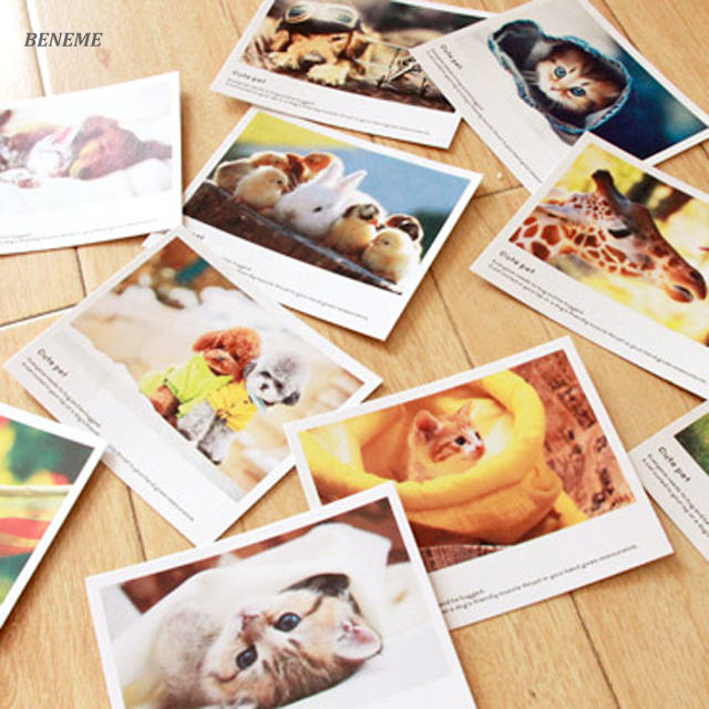 Bulk Coated Paper Laminated Print Travelling Cheap Post Card Maker in China