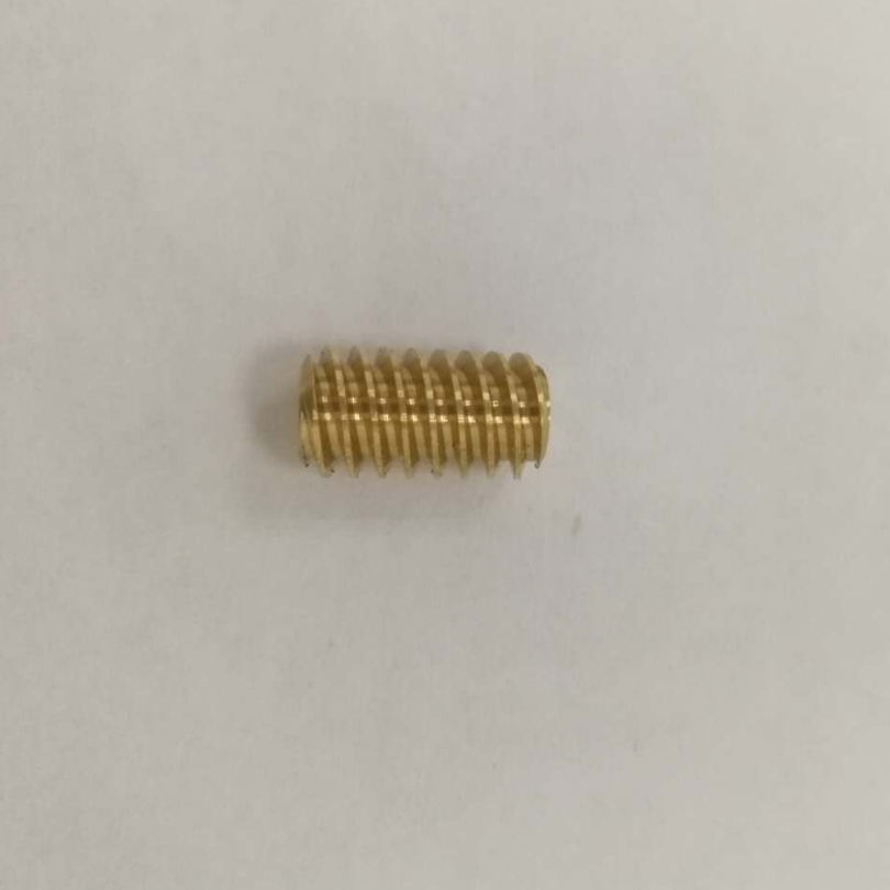 M0.2,M0.3,M0.5 micro small brass helical worm and worm gear
