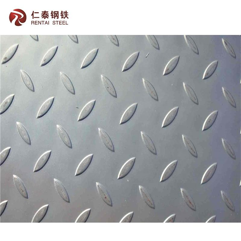 ss400 8mm hot rolled alloy mild steel checkered metal plate
