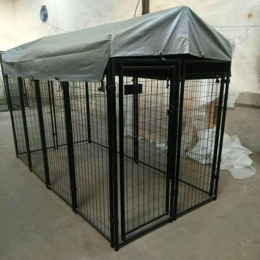 4 * 8 * 6 ft beauful and cheap metal weded dog cages / kennel / runs